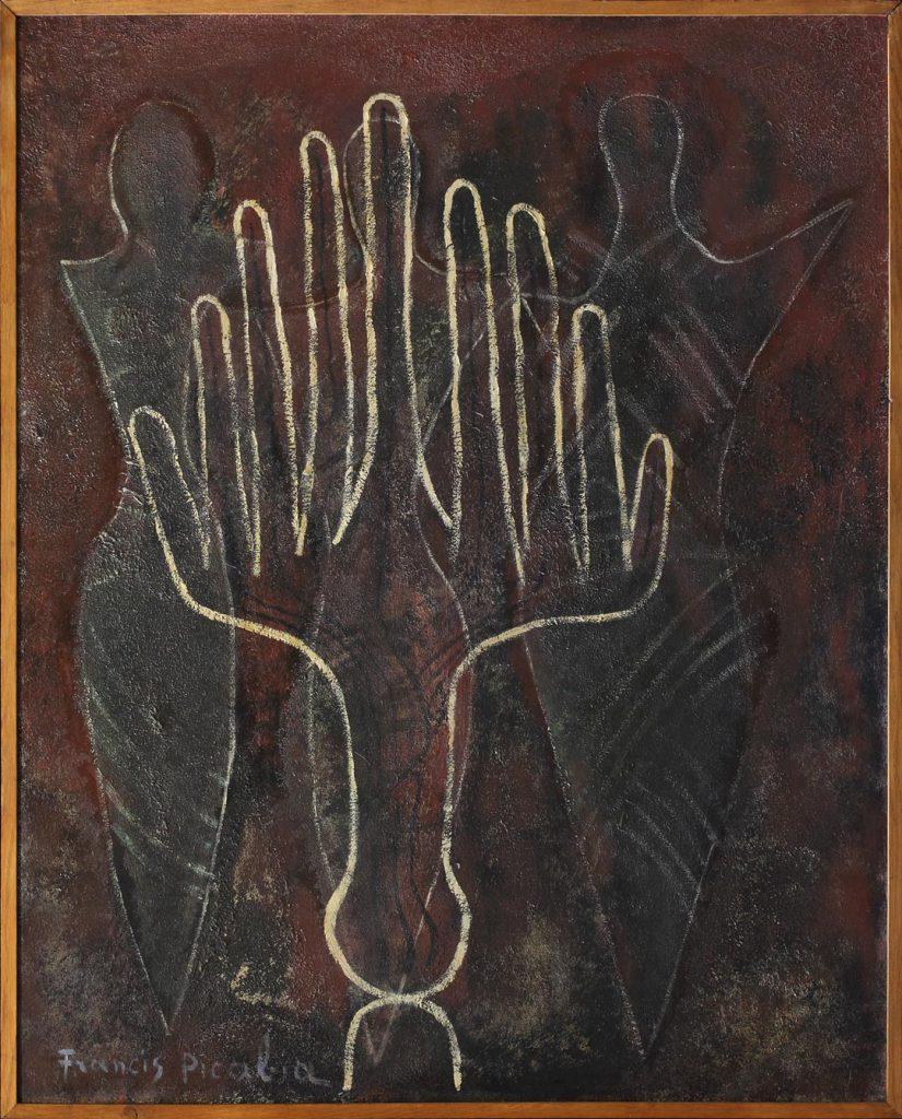 Francis Picabia - Mains et Fantômes 1948 - ACHAT 2018